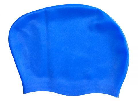 long hair swim cap