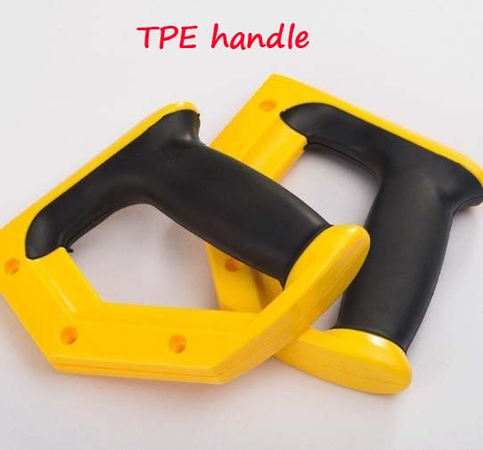 TPE secondary injection molding handle