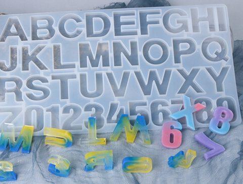 letter molds